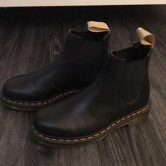 83cd75ad0af Dr. Martens vegan Flora Chelsea boots